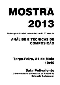 Mostra2013 Cartaz