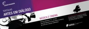 Convite Tertulia Musica e Cinema